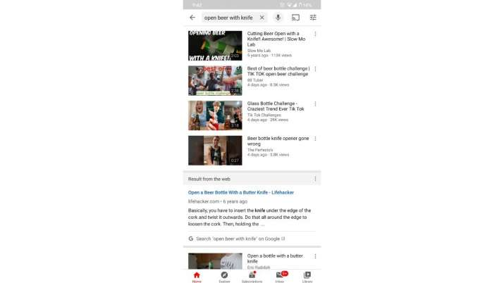 India Tv - youtube, youtube for android, youtube for android feature, youtube will show google search results,