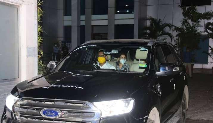 India Tv - Sushant Singh Rajput's family spotted in Mumbai