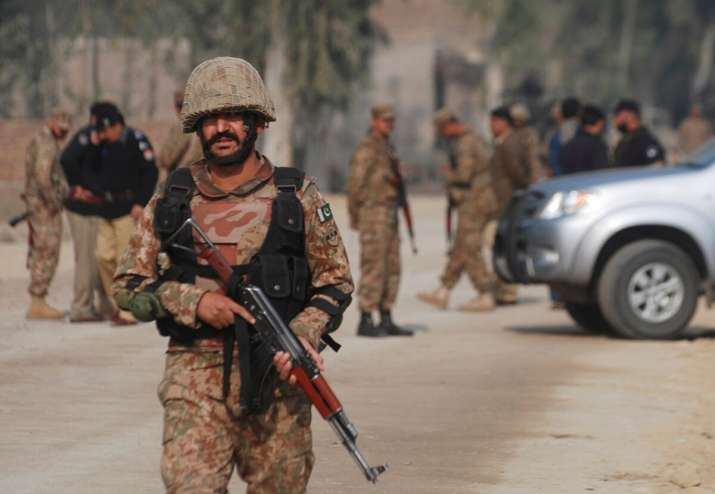 Pakistani troops forced to abandom border posts after Balochistan protests turn violent