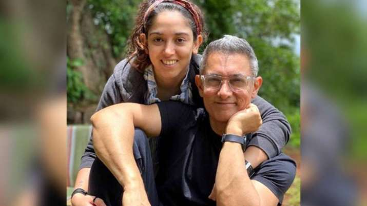 Aamir Khan's fans in awe of his new 'grey hair' look after daughter Ira's Father's Day post