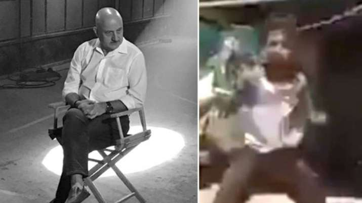 Anupam Kher amazed at a poor boy's talent, seeks details to sponsor his study and training. Watch vi