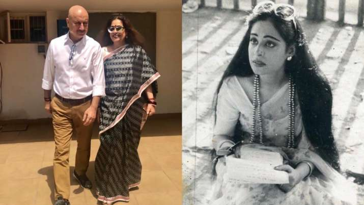 Anupam Kher wishes wife Kirron Kher on 65th birthday by sharing heartfelt note, throwback photos