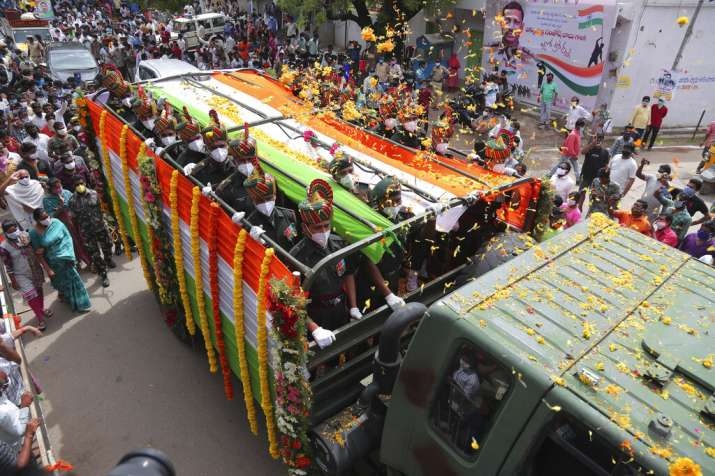 India Tv - Colonel Santosh Babu LAC martyr suryapet tribute
