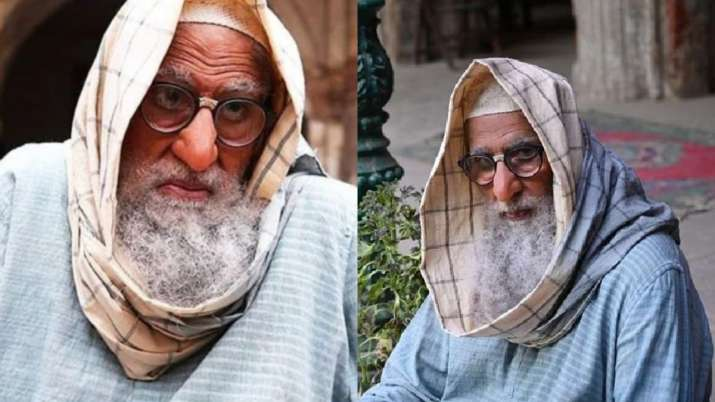 Amitabh Bachchan talks about use of prosthetics and back pain during 'Gulabo Sitabo' shoot in his bl