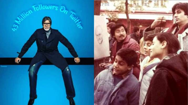 Amitabh Bachchan hits 43 million followers on Twitter, shares unmissable throwback photo