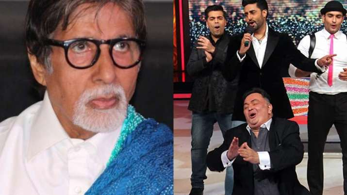 Amitabh Bachchan appreciates late Rishi Kapoor's lip-syncing skill, shares lively throwback photo