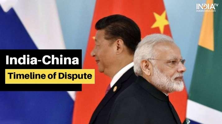 india china faceoff