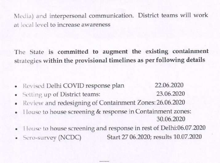 India Tv - All houses in Delhi to be screened by July 6 in new coronavirus response plan