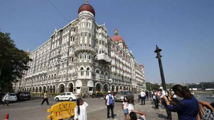 Terrorists from Pakistan threaten to blow Mumbai's Taj Hotel and Taj Lands End in Bandra