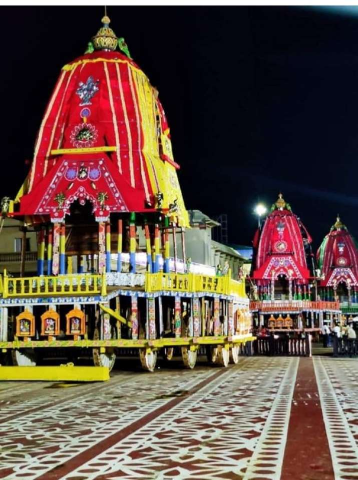 India Tv - Lord Jagannath Rath Yatra Supreme court to hear petitions today