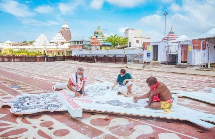 Rituals of Lord Jagannath Puri Rath Yatra will be performed