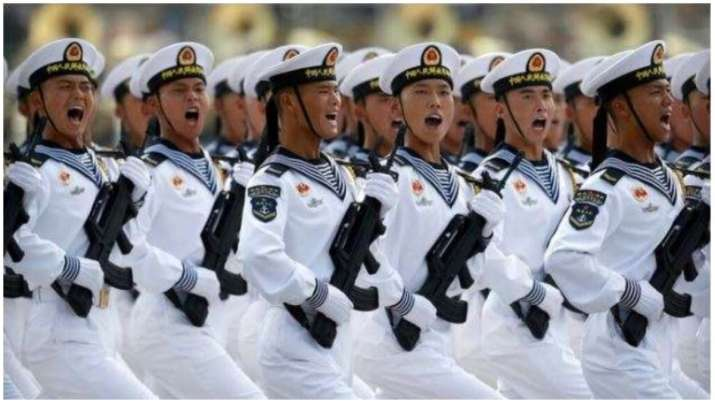 China amassing large contingent of troops, armaments along LAC since early May: India