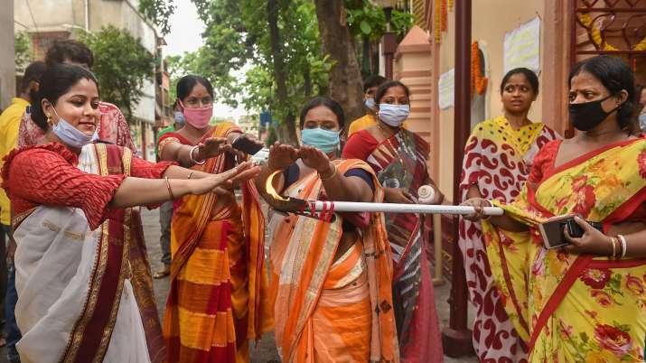 Kerala man worships 'Corona Devi' for well being, pujas offered to 'Corona Maiyya' in Bihar, Jharkha