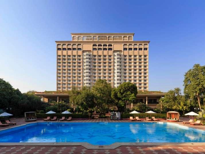 The mighty Taj Mansingh Hotel in New Delhi coverted into COVID-19 facility