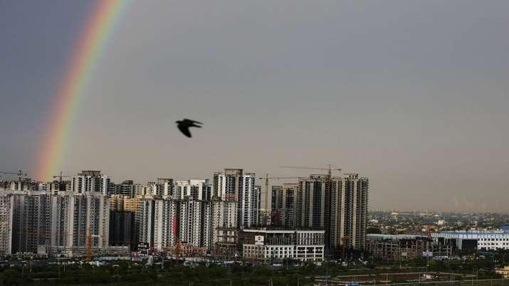 New Delhi, high rise