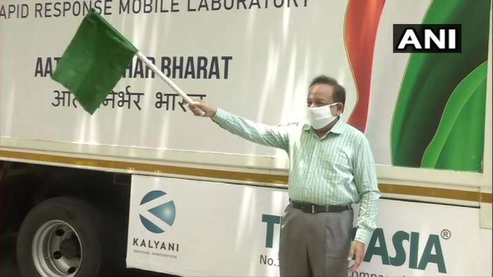 First mobile lab for COVID-19 testing launched in Delhi