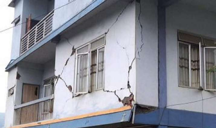 Mizoram earthquake