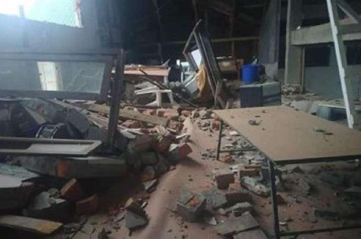 India Tv - Mizoram earthquake