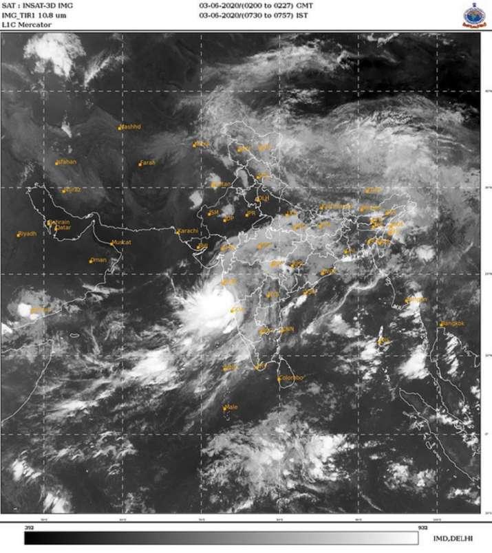 India Tv - Cyclone Nisarga live updates