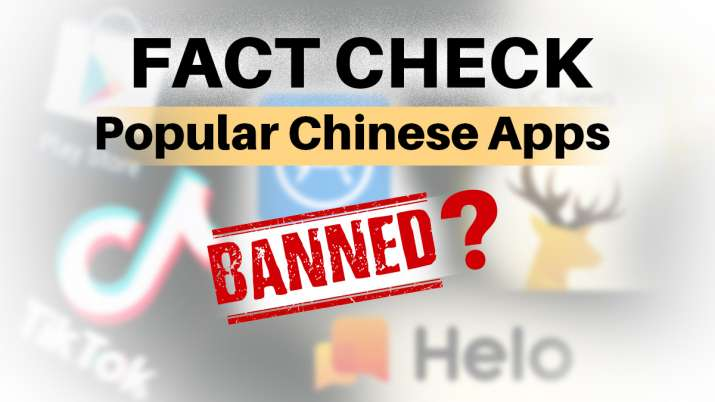 FACT CHECK: Has govt banned 52 Chinese Apps and issued