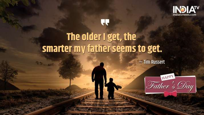 India Tv - Father's Day Wishes, Messages, Quotes, Images, Facebook & Whatsapp status Happy Father's Day 2020