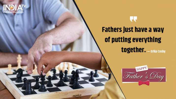 India Tv - Happy Father's Day 2020: images, Wishes, quotes, status, messages, photos, cards, and greetings