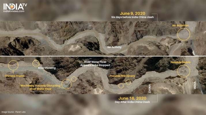 Galwan Valley, India China border, India China face off