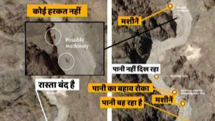 India Tv - China, satellite images, Galwan Valley, Line of Actual Control