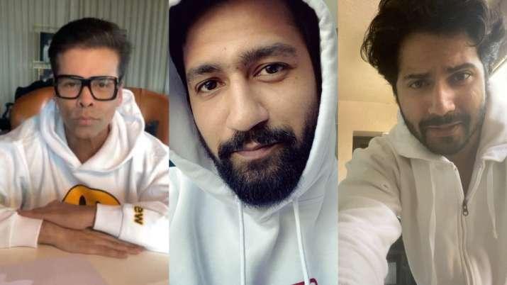 Karan Johar and others accepts Ayushmann's Gulabo Sitabo' tongue-twister challenge, share hilarious