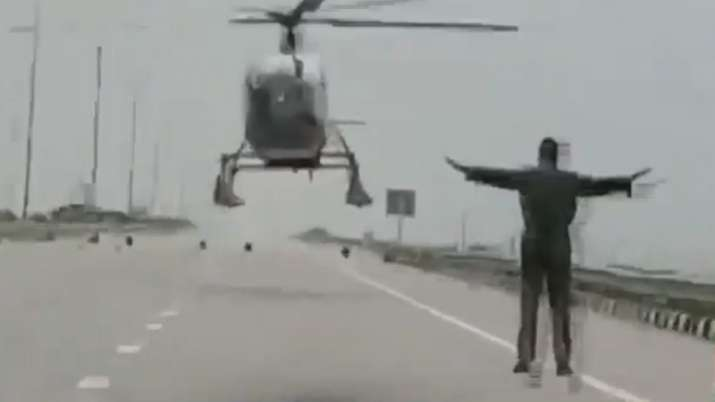 IAF helicopter, Indian Air Force, Helicopter, Sonipat, Haryana
