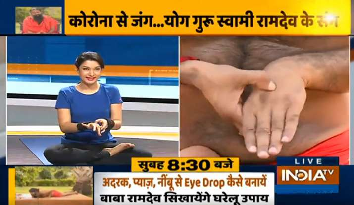 India Tv - Treat diabetes naturally at home with Swami Ramdev's effective yoga tips