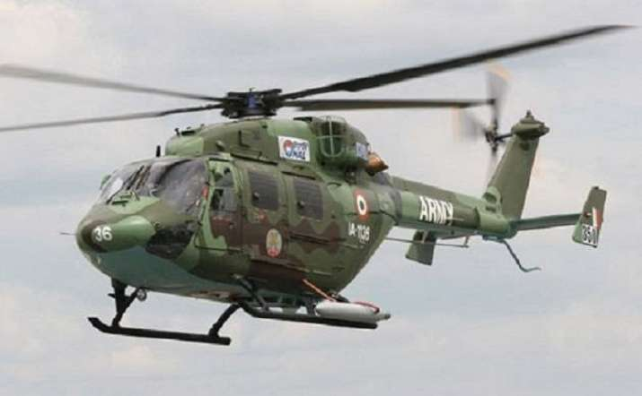 Indian army's ALH Dhruv makes emergency landing in Ladakh