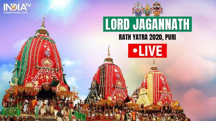 Puri Rath Yatra 2020 LIVE: Lord Jagannath rath Yatra has started