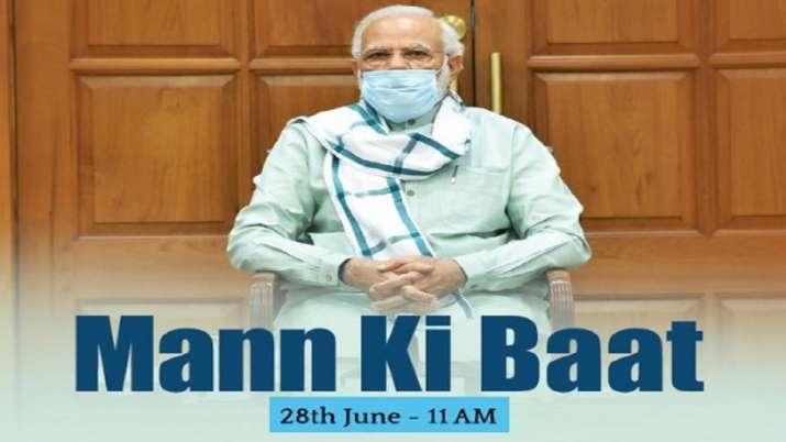 PM Modi to address the nation through Mann Ki Baat at 11 am