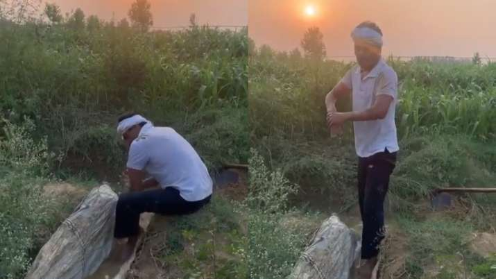 Fans call Nawazuddin Siddiqui 'inspiration' after video of him working in field like a farmer goes v