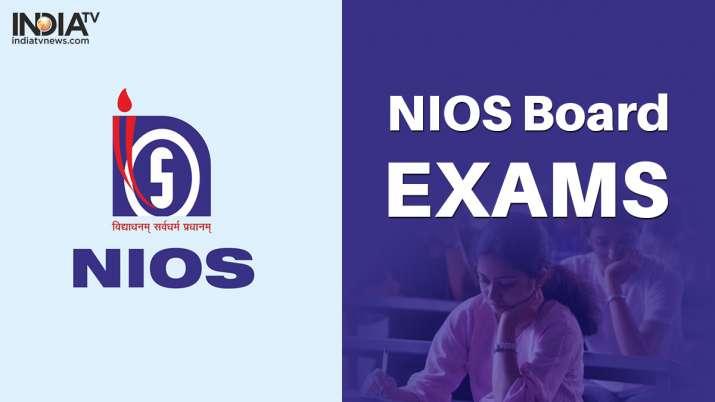 NIOS Class 10 board exams, NIOS Class 12 Board exams, NIOS board exams, NIOS exams news, NIOS exams