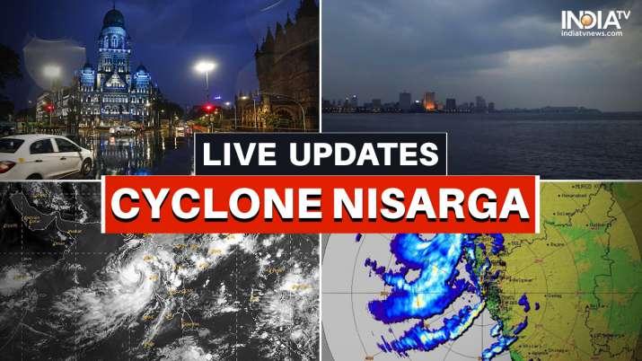 Cyclone Nisarga alerts weather warnings today mumbai, he lpline numbers, IMD, Mumbai Rains LIVE