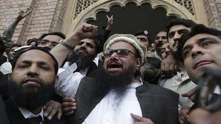 Hafiz Saeed, head of the Pakistani religious party,