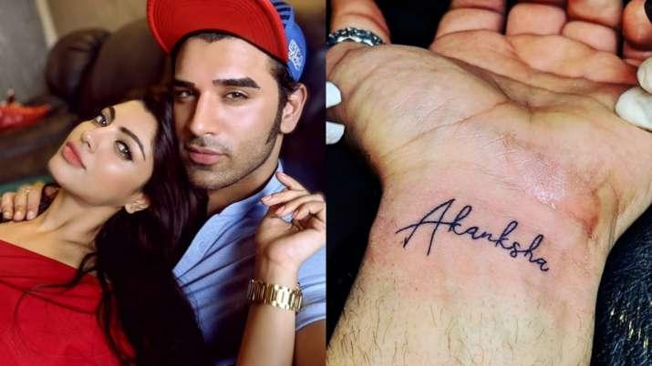Bigg Boss 13 fame Paras Chhabra replaced ex-girlfriend Akanksha Puri's tattoo with Bigg Boss eye? Fi