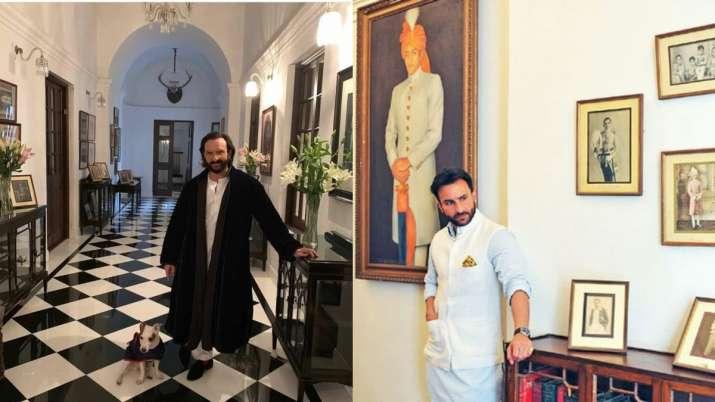 Take a tour inside Saif Ali Khan, Kareena Kapoor's Pataudi Palace worth Rs 800 crore