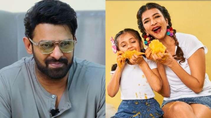 Prabhas surprises actress Lakshmi Manchu's 6-year old daughter on birthday