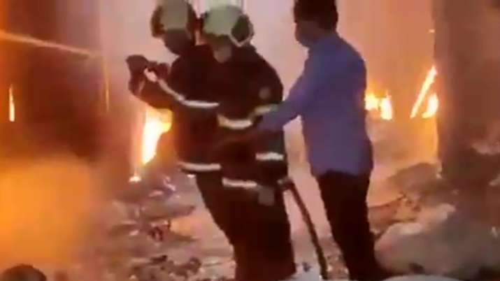 Fire breaks out in Mumbai's Mankhurd scrap compound