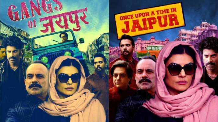 Sushmita Sen shares fan-made posters of Aarya with 'Gangs of Jaipur' and 'The Godmother' twist