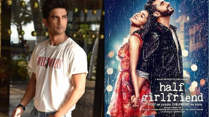 Sushant Singh Rajput dropped out of Half Girlfriend, replaced by Arjun Kapoor