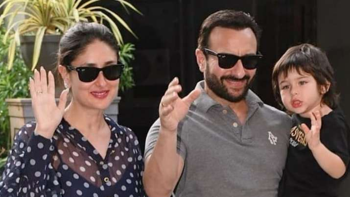 Saif Ali Khan's interview gets crashed by son Taimur once again