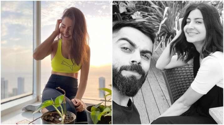 As Anushka Sharma poses in 'sunlight spot', husband Virat Kohli can't stop gushing