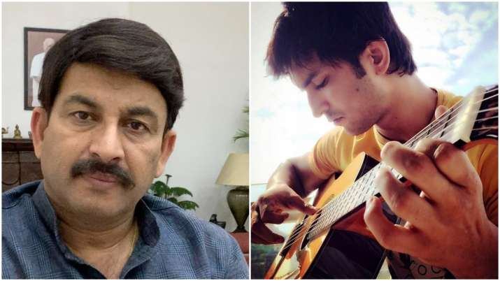 Manoj Tiwari favours CBI inquiry into Sushant Singh Rajput's suicide |  Entertainment News – India TV