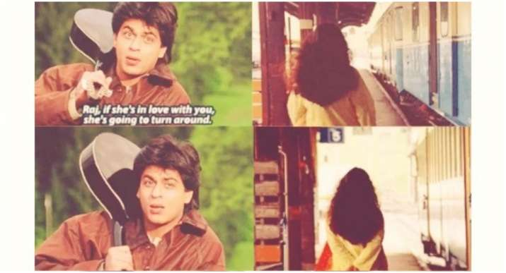 Did you know Shah Rukh Khan-Kajol's iconic 'Palat scene' from DDLJ is copied from this Hollywood fil