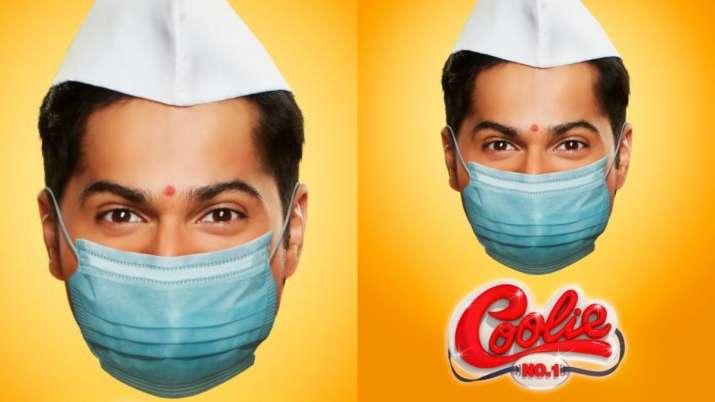 Varun Dhawan shares latest Coolie No. 1 poster with coronavirus twist