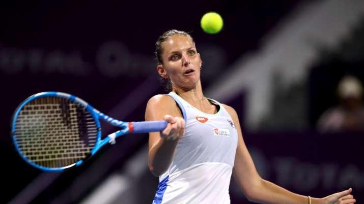 'Ice queen' Karolina Pliskova admits she too gets nervous and annoyed